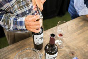 Degustación de nuestros vino Herencia de Bodegas F. Rubio.